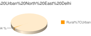 North East Delhi census population